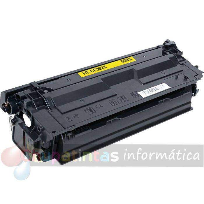 HP CF362X COMPATIBLE TÓNER AMARILLO 508X
