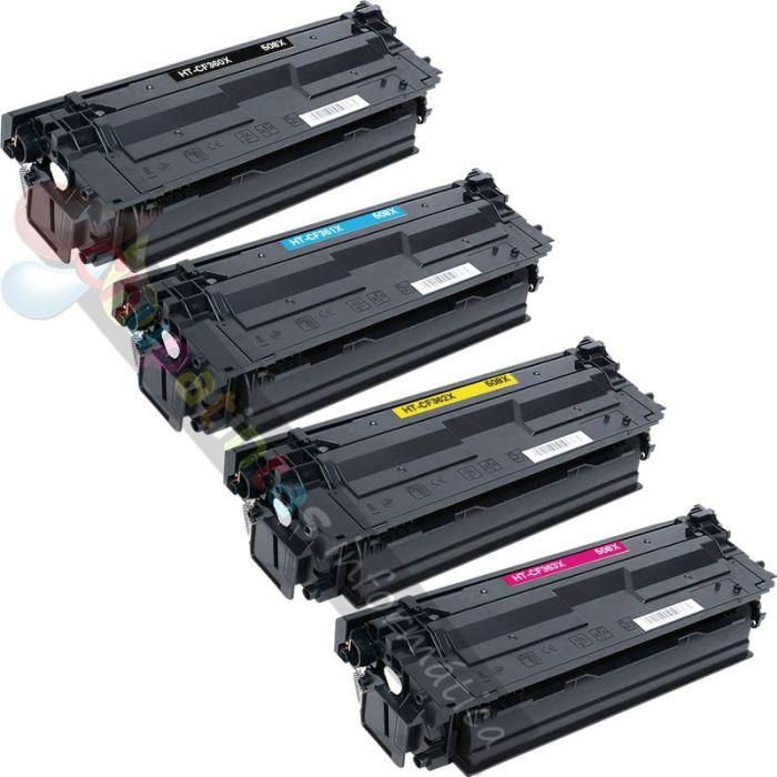 HP CF360X + CF361X + CF362X + CF363X COMPATIBLE TÓNER 508X PACK AHORRO 4 CARTUCHOS