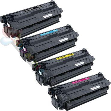 HP CF360X + CF361X + CF362X + CF363X COMPATIBLE TONER HP 508X PACK DE AHORRO 4 CARTUCHOS