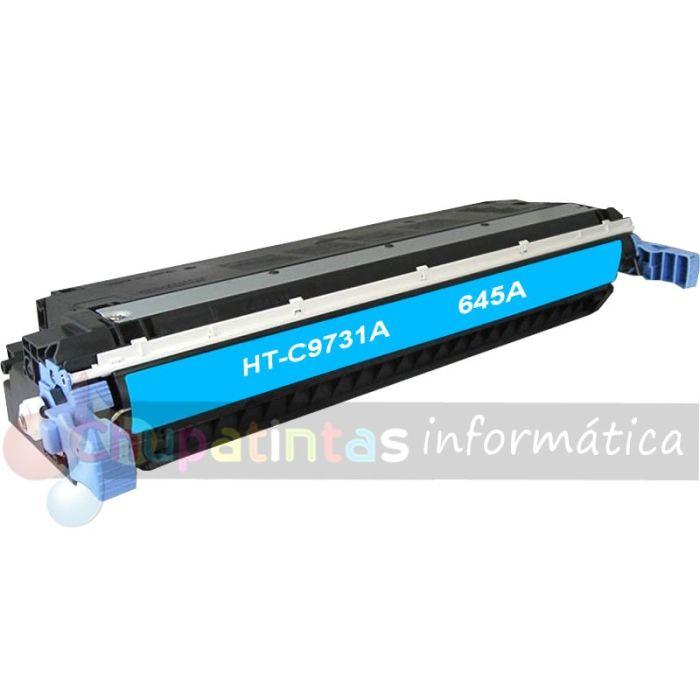 HP C9731A COMPATIBLE TÓNER CIAN HP 645A