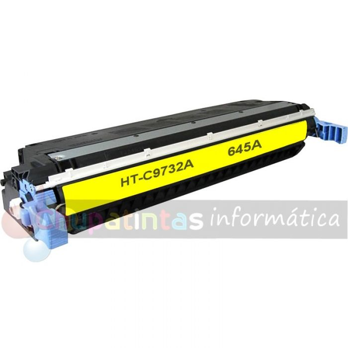 HP C9732A COMPATIBLE TÓNER AMARILLO HP 645A