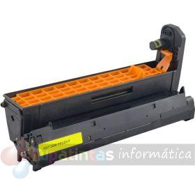 OKI C5600 / C5700 / C5800 / C5900 / C5500 / C5650 / C5750 / C5850 / C5950 / MC560 / C610 COMPATIBLE TAMBOR AMARILLO