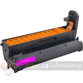 OKI C5600 / C5700 / C5800 / C5900 / C5500 / C5650 / C5750 / C5850 / C5950 / MC560 / C610 COMPATIBLE TAMBOR MAGENTA