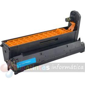 OKI C5600 / C5700 / C5800 / C5900 / C5500 / C5650 / C5750 / C5850 / C5950 / MC560 / C610 COMPATIBLE TAMBOR CIAN