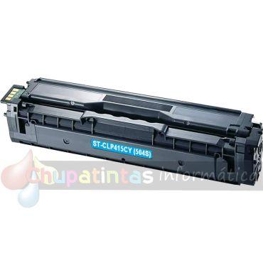 SAMSUNG CLP415/CLX4195 COMPATIBLE TONER CIAN CLT-C504S/SU025A