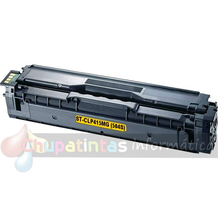 SAMSUNG CLTY504S COMPATIBLE TONER AMARILLO CLP415 / CLX4195
