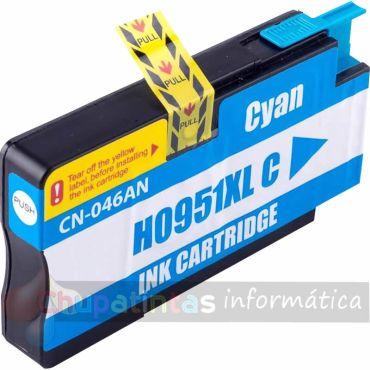 HP 951 COMPATIBLE CIAN CAPACIDAD XL CN046AE/CN050AE