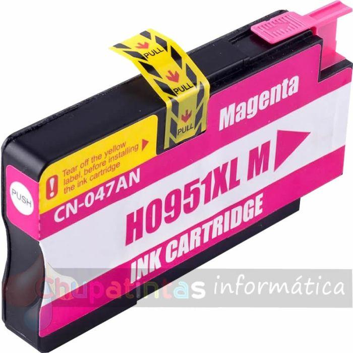 HP 951 COMPATIBLE MAGENTA CAPACIDAD XL CN047AE/CN051AE