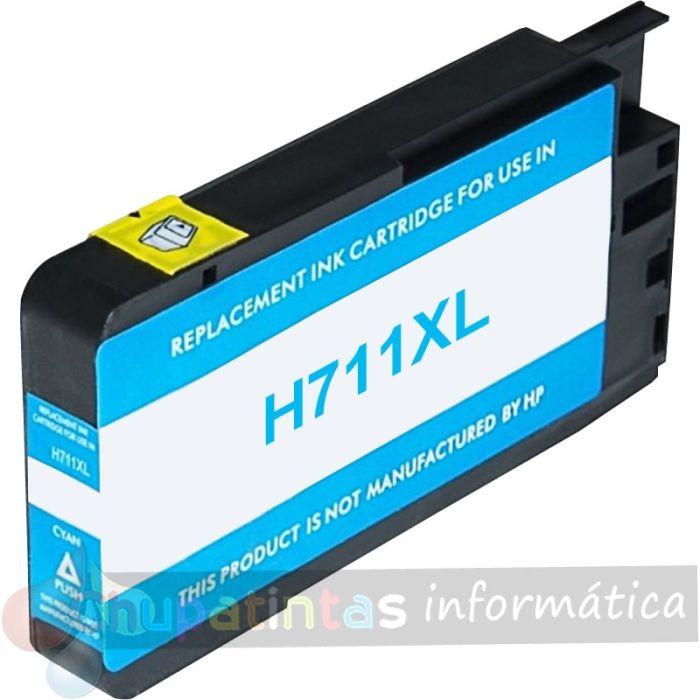 HP 711 COMPATIBLE CIAN CAPACIDAD XL