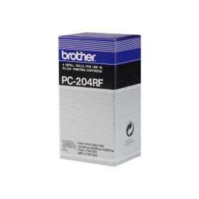 Brother PC204RF Pack de 4 Rollos de Transferencia Termica Originales