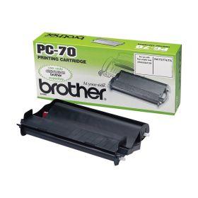 Brother PC70 Cartucho y Rollo de Transferencia Termica Original - 1 Rollo
