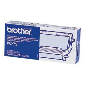 Brother PC75 Cartucho y Rollo de Transferencia Termica Original - 1 Rollo